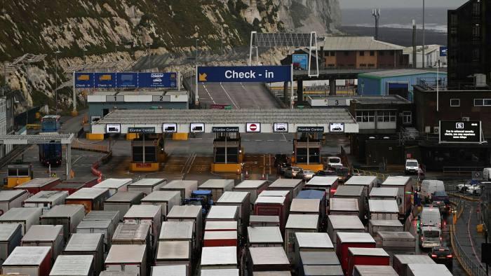Превоз на товари от Великобритания