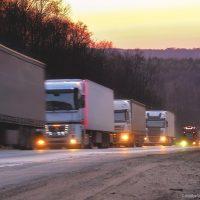 международни превози с камиони