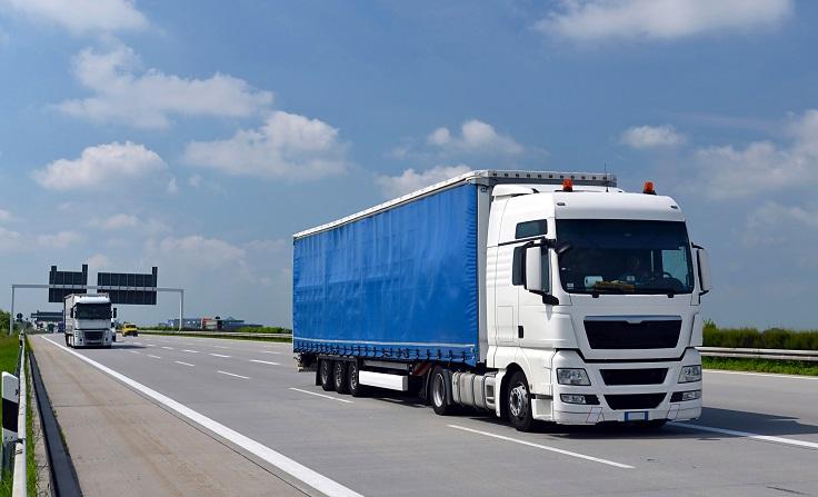 сухопътен транспорт на товари за Гърция